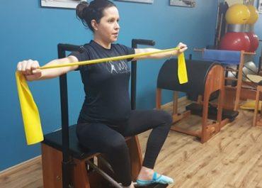 Preparação do parto com o método Pilates para gestantes